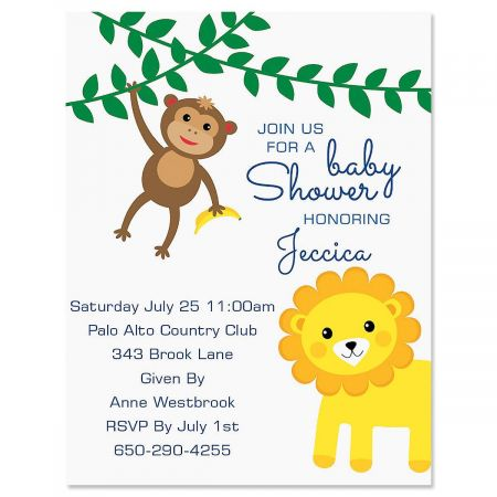 Sweet Safari Invitation