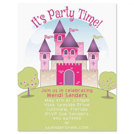 Pretty Princess Invitation