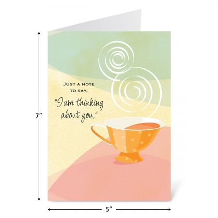 Bright Moments Thinking of You Greeting Cards