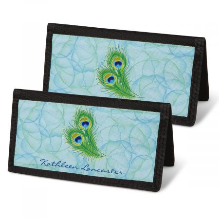 Bright Watercolors Personal Checkbook Covers