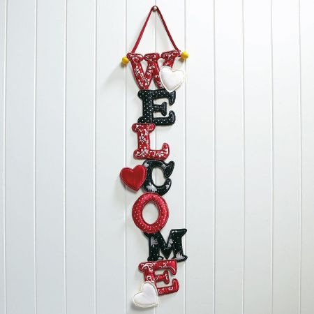 Valentine Welcome Door Banner