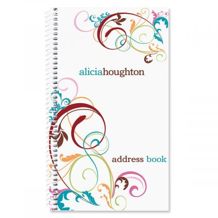 Fantasia Personalized Lifetime Address Book