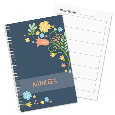 Simply Blooming Personalized Planner