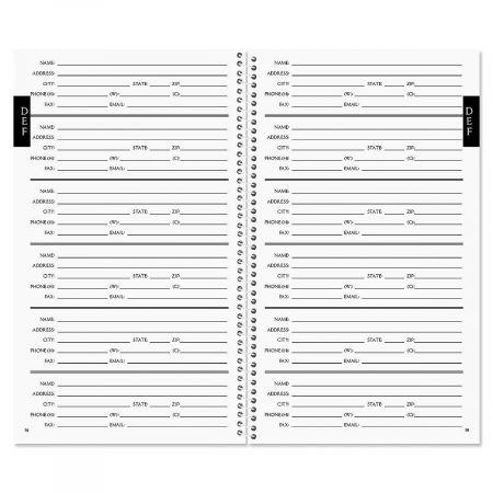 Doodle Dots Personalized Lifetime Address Book