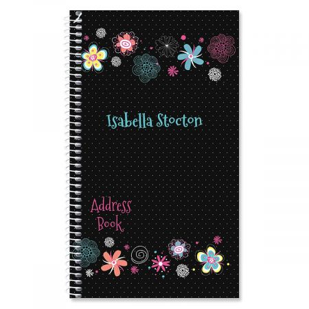 Vibrant Personalized Lifetime Address Book