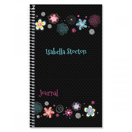 Vibrant Personalized Daily Journal