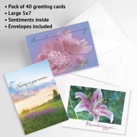 Mega Sympathy Greeting Cards Value Pack