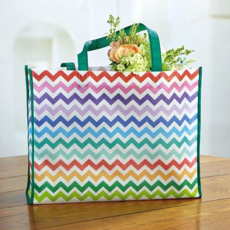 Colorful Chevron Bag - Buy 1 Get 1 Free!
