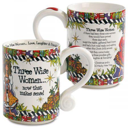 Three Wise Women Novelty Mug