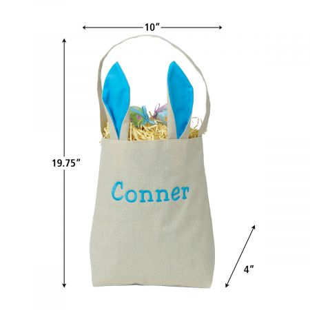 Easter Tote with Ears - Blue