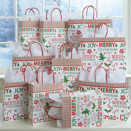 Gift Bags Oh So Merry