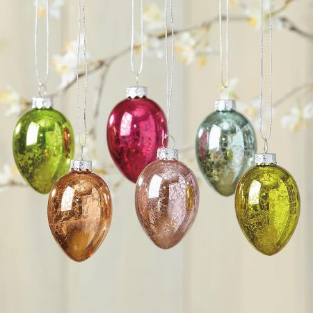 Crackle Ornaments