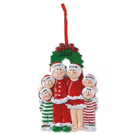 PJ Family Custom Christmas Ornaments