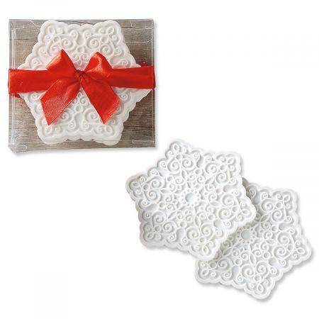 Snowflake Silicone Coasters
