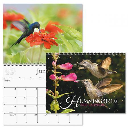 2019 Hummingbirds Wall Calendar