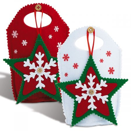 Star-Ornament Treat Bags
