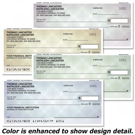 Sophisticated Personal Checks