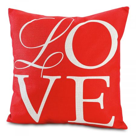 Love Letters Pillow Cover