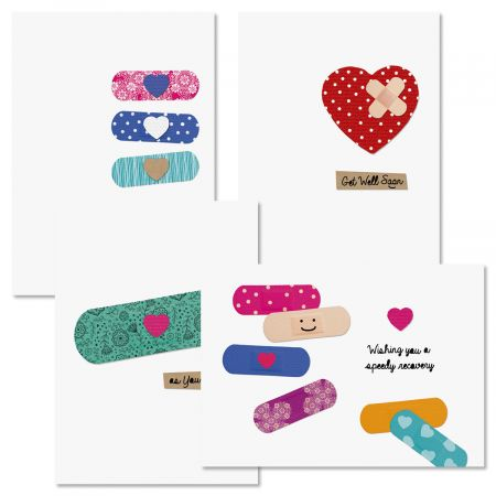 Healing Thoughts Get Well Greeting Cards