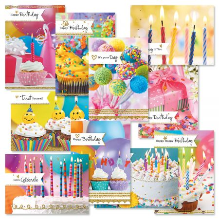 Photo Birthday Greeting Cards Value Pack