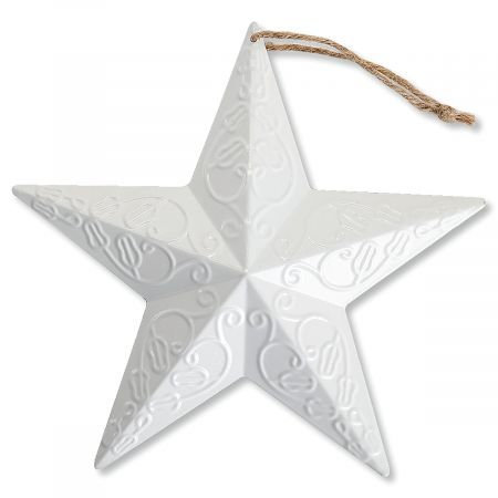 "Patriotic Large 8"" Metal Stars"