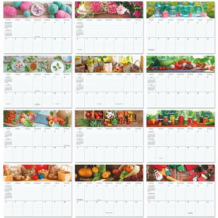 2020 All Hearts Come Home Big Grid Planning Calendar