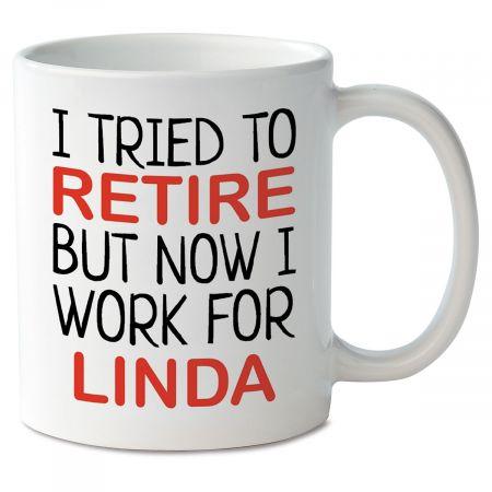 Retired Novelty Mug