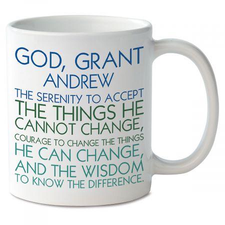 Serenity Prayer Custom Mugs