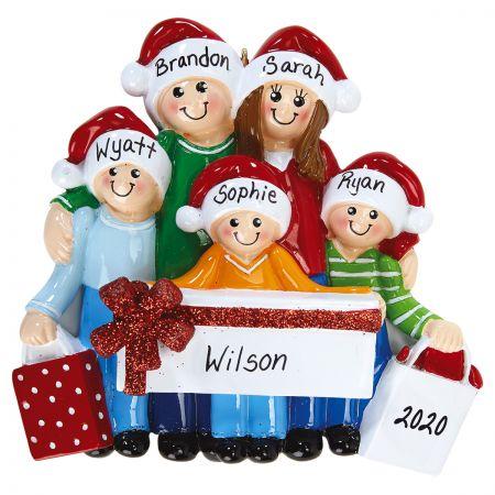Gift Family Custom Ornament