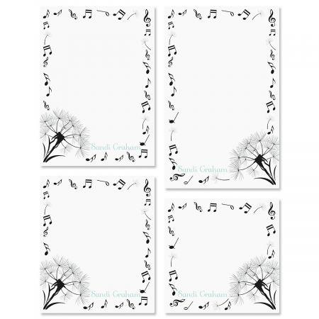 Dandelion Notes Custom Memo Pad Sets