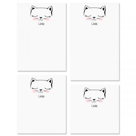 Kitty Ears Custom Memo Pad Sets