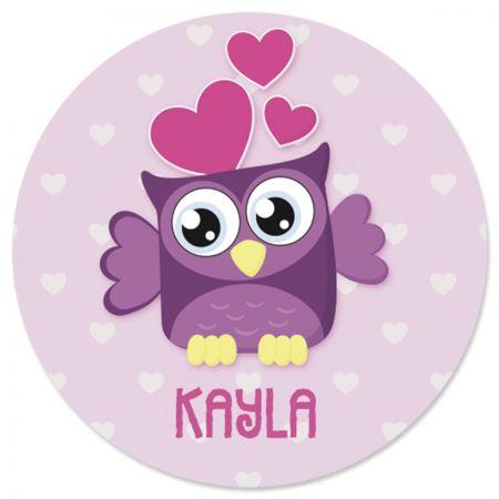 Custom Owls Stickers