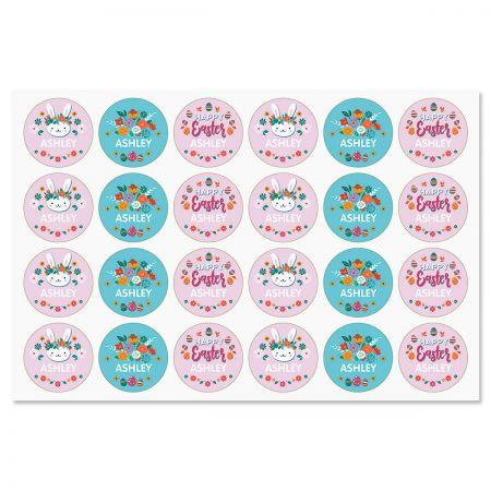 Custom Easter Variety Stickers