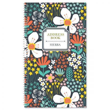 Tansy Garden Lifetime Address Book