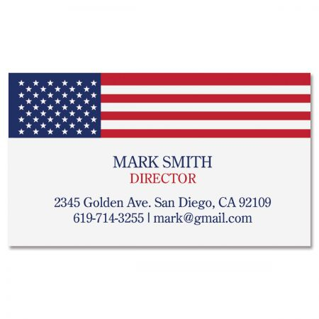 All American Standard Business Card