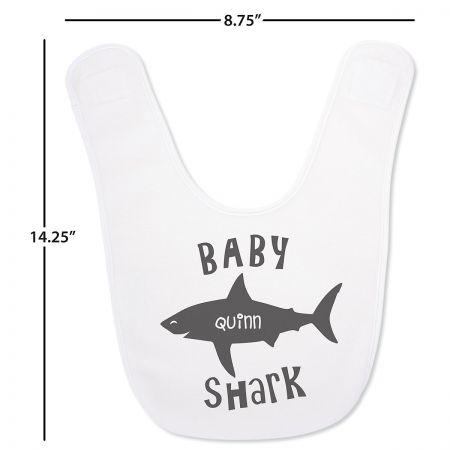 Personalized Baby Shark Bib