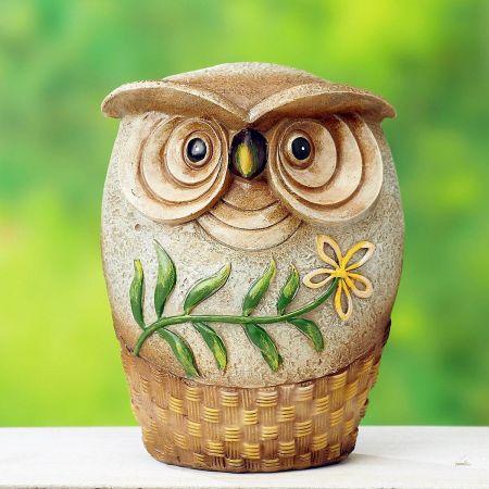 Short Resin Owl
