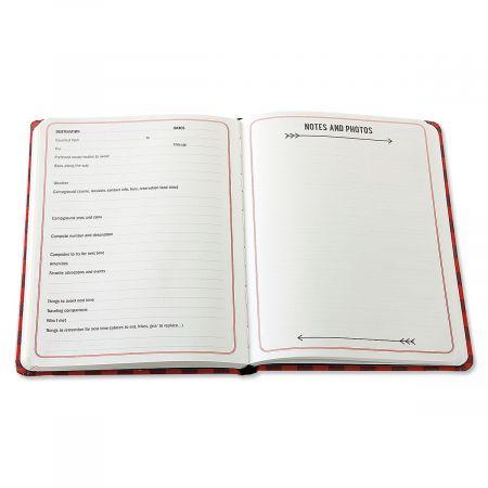 The Camping Log Book