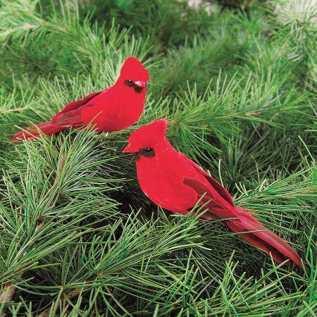 Cardinal Clip-on Christmas Ornament