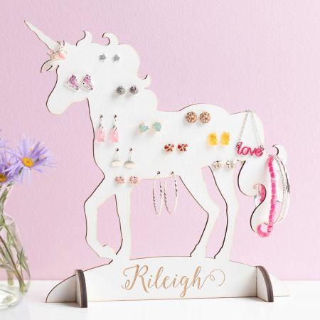 Custom Unicorn Jewelry Stand