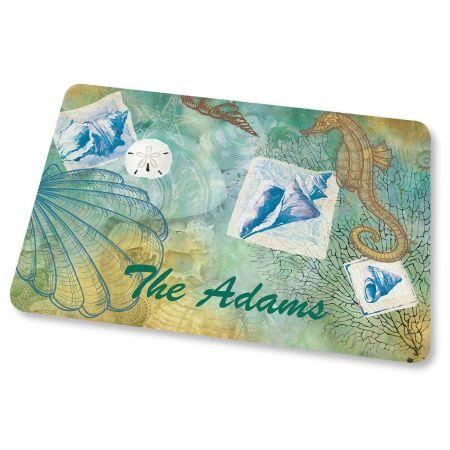 Seaside Personalized Doormat
