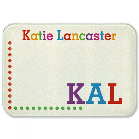 Whimsical Name Personalized  Cutting Board