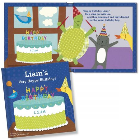 My Very Happy Birthday Personalized  Storybook for Boys