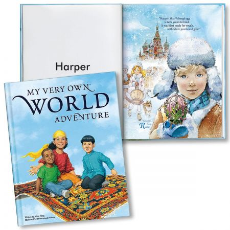 My Very Own World Adventure Personalized Storybook