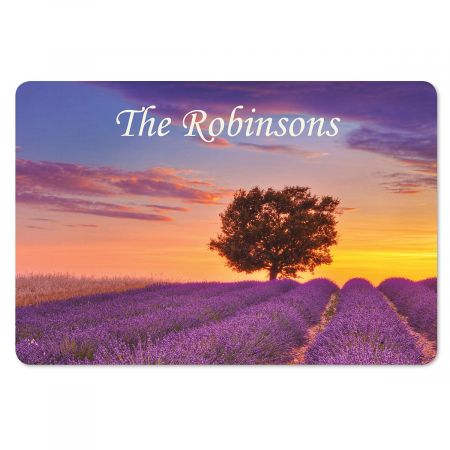 Tuscan Landscape  Personalized Floor Mat