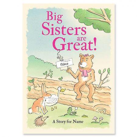 Big Sisters Are Great! Storybook