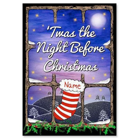 'Twas the Night Before Christmas Personalized Storybook