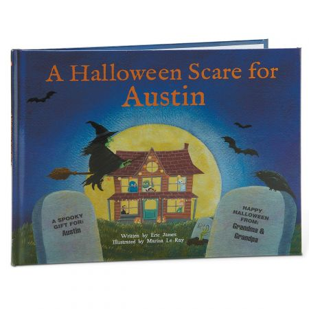 A Halloween Scare at My House Custom Storybook