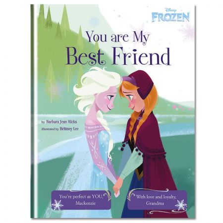 Disney® Frozen You Are My Best Friend Custom Storybook