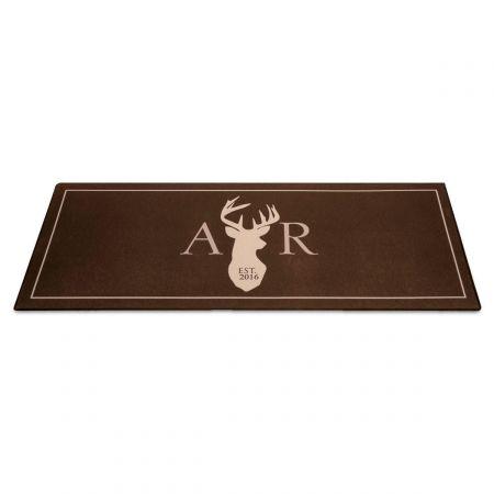 Custom Deer Doormat
